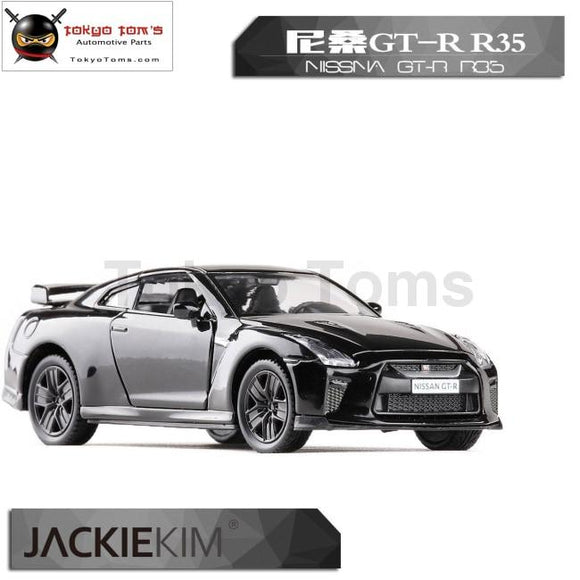 3Pcs/lot Wholesale Brand New 1/36 Scale Car Toys Japan Nissan Gt-R R35 Diecast Metal Pull Back Model