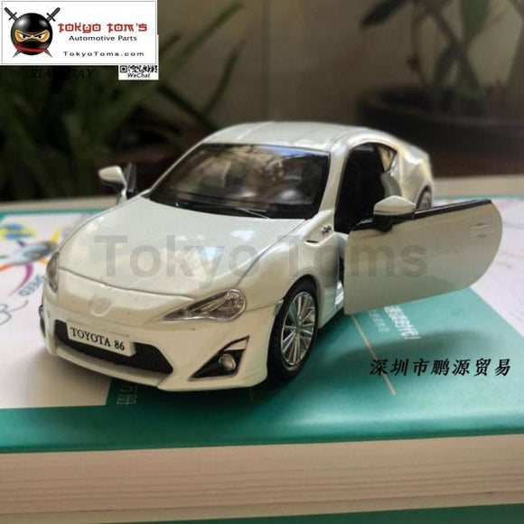 3Pcs/lot Wholesale Rian Day 1/36 Scale Car Model Toys Japan Toyota Gt86 Diecast Metal Pull Back Toy