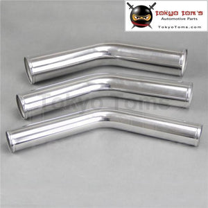 42Mm 1 5/8 Inch 45 Degree Aluminum Turbo Intercooler Pipe Piping Tubing Length 300Mm