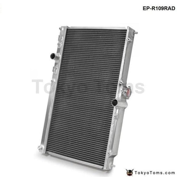42Mm 2 Row Aluminum Alloy Racing Cooling Performance Radiator For Mitsubishi Lancer Evo 7 8 9