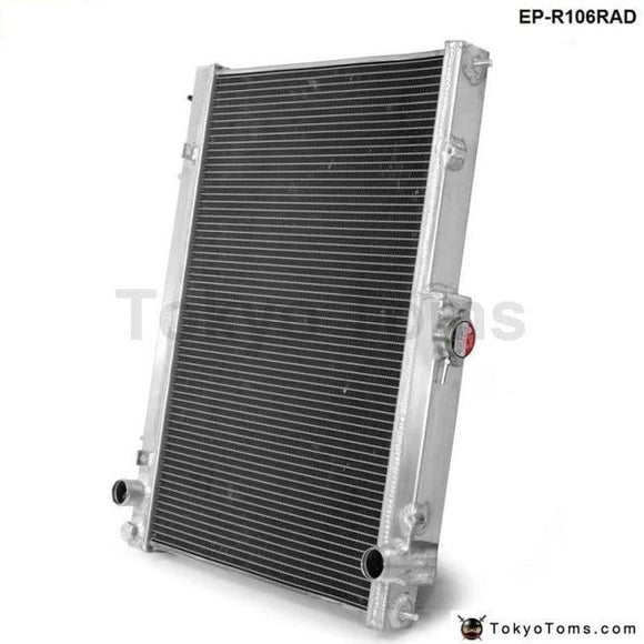 42Mm 2 Row Aluminum Radiator For Nissan Skyline R33 R34 Gtr Gtst Rb25Det Mt