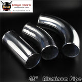 45 Degree 102Mm 4 Inch Aluminum Intercooler Intake Pipe Piping Tube Hose