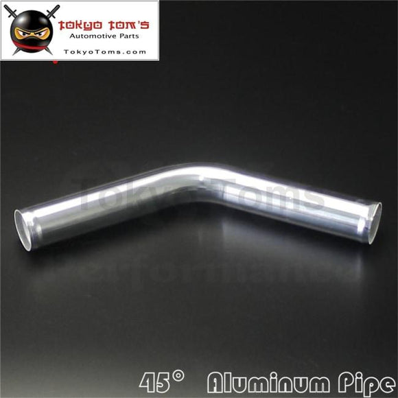 45 Degree 42Mm 1.65 Inch Aluminum Intercooler Intake Pipe Piping Tube Hose