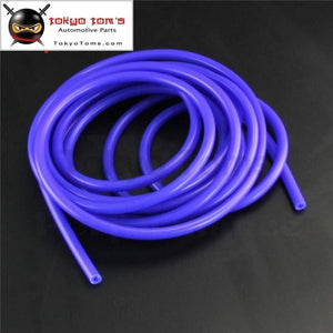4Mm Id Silicone Vacuum Tube Hose 5 Meter / 16Ft Length - Blue Black Red