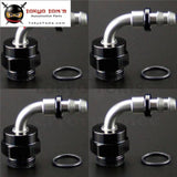 4Pcs Male 90 Degree M22*1.5 To An6 12Mm Push On Hose End Union Adapter Fitting