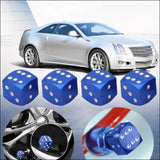4Pcs/lot Bicycle Car Wheel Tire Valve Cap Hexagonal Air Stems Cover Ventile Tyre Dust Rims Styling
