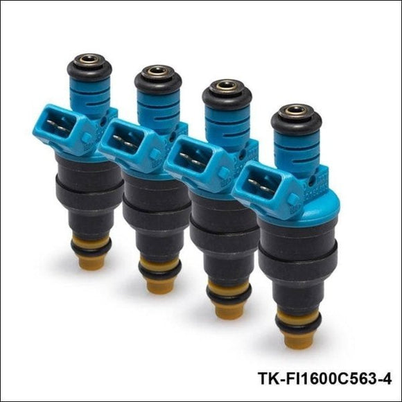 4Pcs/lot New High Performance Low Impedance 1600Cc 160Lb Ev1 Top Fuel Injectors Oem:0280150563