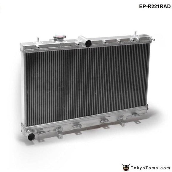 50Mm 2 Row Aluminum Radiator For Subaru Impreza Wrx Sti Gdb Gd8 Mt 02-07 03 04 05 06