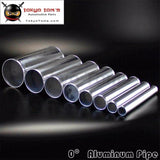 51Mm 2.0 Inch Straight Intercooler Aluminum Turbo Pipe Piping Tube Tubing