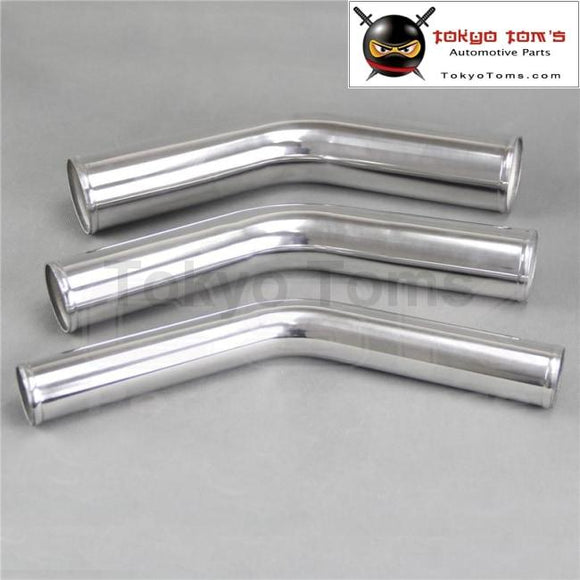 60Mm 2 3/8 Inch 45 Degree Aluminum Turbo Intercooler Pipe Piping Tubing Length 300Mm