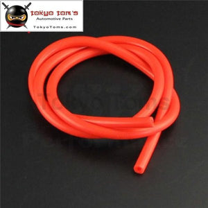 6Mm Id Silicone Vacuum Tube Hose 1Meter / 3Ft For Air Water- Blue /red