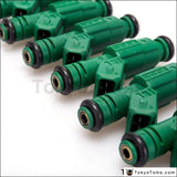 6Pcs/lot High Flow 0 280 155 968 Fuel Injector 440Cc Green Giant For Volov 0280155968 Tk-Fi440C968-6