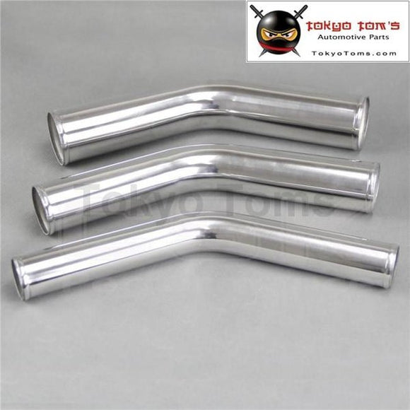 76Mm 3 Inch 45 Degree Aluminum Turbo Intercooler Pipe Piping Tubing Length 300Mm