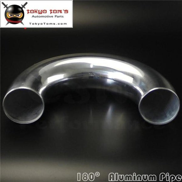 80Mm 3.15 Inch Aluminum Intercooler Intake Pipe Piping Tube Hose 180 Degree L=300Mm