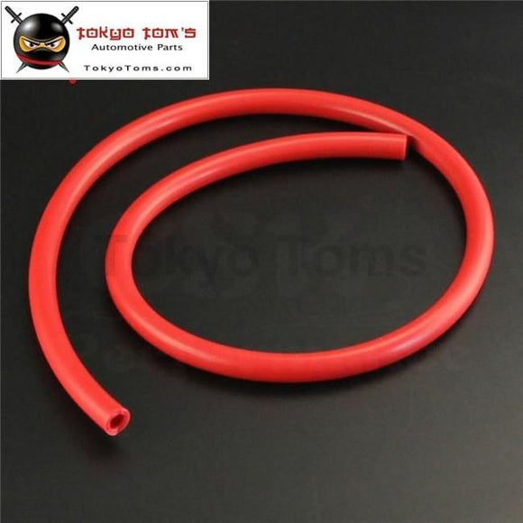 8Mm Id Silicone Vacuum Tube Hose 1Meter / 3Ft For Air Water- Blue/ Black /red