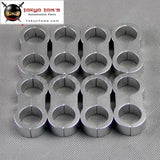 8Pcs An -10 An10 19Mm Braided Hose Separator Clamp Fitting Adapter Bracket Silver