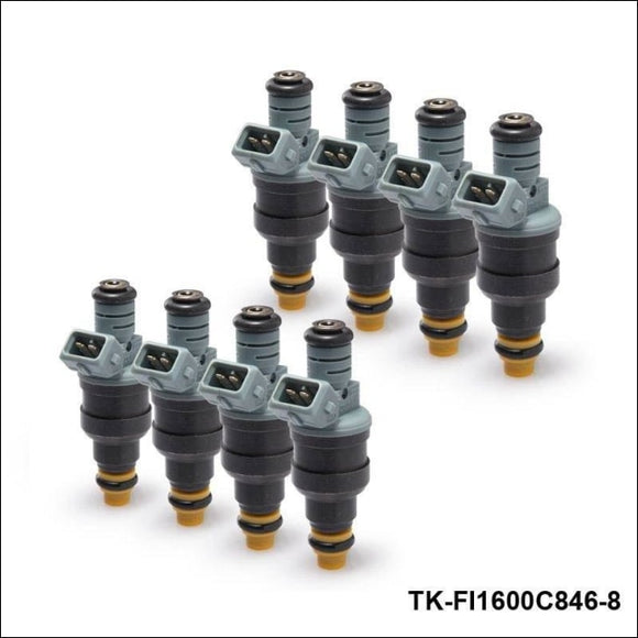 8Pcs/lot New 0280150846 Fuel Injector 1600Cc 152Lb/hr For Audi Chevy Ford Tk-Fi1600C846-8 Systems