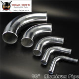 90 Degree 102Mm 4 Inch Aluminum Intercooler Intake Pipe Piping Tube Hose