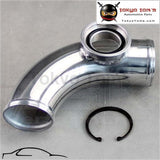 90 Degree 2 50Mm Ssqv Sqv Blow Off Valve Adapte Bov Turbo Aluminum Pipe Piping Piping