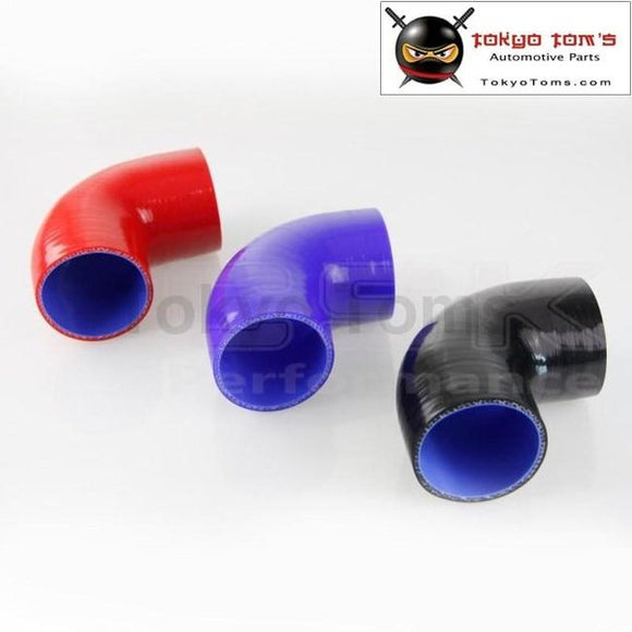 90 Degree 2.75 Inch Racing Silicone Hose Elbow Coupler Intercooler Turbo Hose 70Mm
