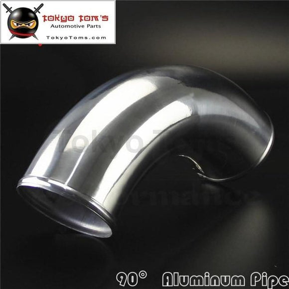 90 Degree 89Mm 3.5 Inch Aluminum Intercooler Intake Pipe Piping Tube Hose