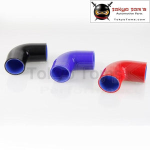 90 Degree Silicone Hose 57Mm Turbo Elbow Coupler Pipe 2.25 Inch