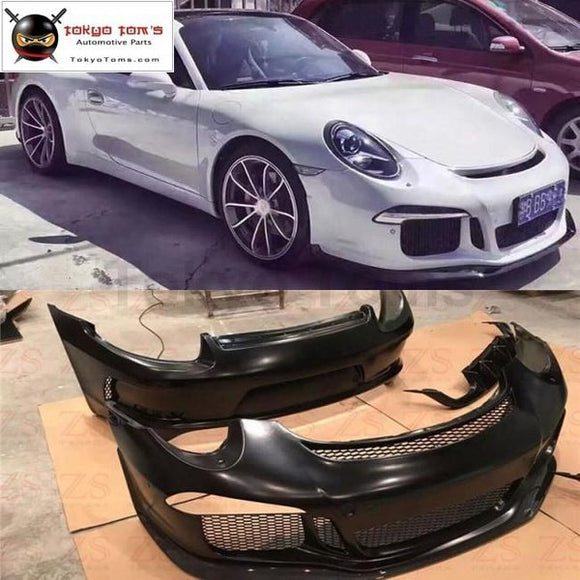 911 991 Gt3 Style Front Bumper Rear Spoiler For Porsche Carrera Style Car Body Kit 13-15