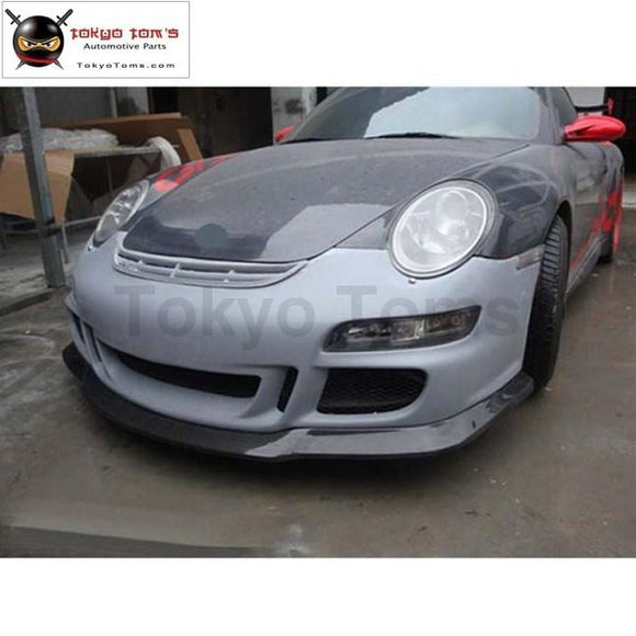 911 997.1 Gt3 Style Front Bumper Rear Spoiler For Porsche Carrera Style Car Body Kit 05-08
