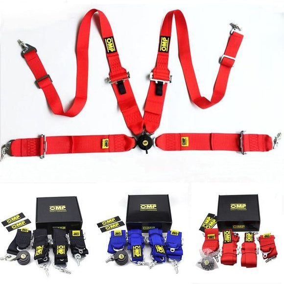 4 Point OMP Seat Belt Harness