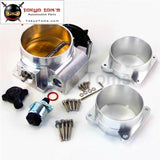 92Mm Throttle Body / Tps + 3.5 Mass Air Flow Maf Adapter Ends For Lt4 Ls1 Chevy