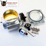 92Mm Throttle Body W/ Manifold Adapter Plate + Tps Iac For Lsx Ls Ls1 Ls2 Ls7 Sl