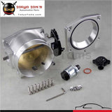 92Mm Throttle Body W/ Tps + Manifold Adapter Plate For Ls1 Ls2 Ls3 Ls6 Ls7 Lsx