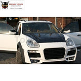955 Carbon Fiber Engine Hood Cover For Porsche Cayenne Car Body Kit 2006