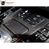 958 Carbon Fiber Interior Door Handle Cover Dashboard For Porsche Cayenne 11-17