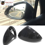 958 Replacement Carbon Fiber Rear View Mirror Cover For Porsche Cayenne Cap 2016 Free Shipping