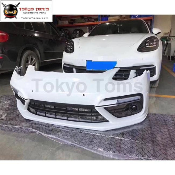 971 Turbo Pp Front Bumper Lip For Porsche Panamera Turbo Car Body Kit 2017