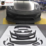 981 Gt4 Style Frp Front Bumper Rear Diffuser Spoiler Wings For Porsche Boxster Cayman Change Car