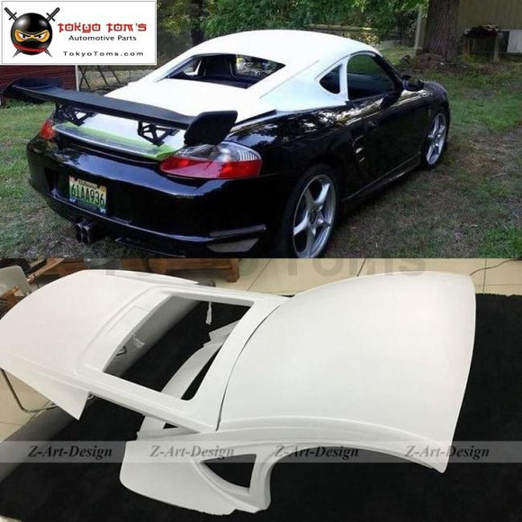 986 Car Body Kit Glass Fiber Hardtop For Porsche Boxster Hard Top Change To Cayman Outlook