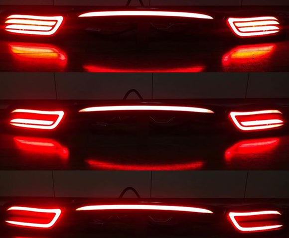 Custom Mazda FD RX7  Dancing Tail Lights - Tron