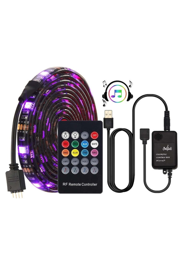 USB LED Strip Music controller Sound