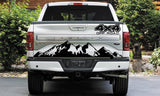 Tailgate 4X4 Off Road Decal