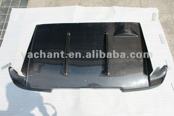 Carbon Fiber Type A Style Rear Diffuser Fit For Subaru Impreza Subaru WRX 8-9