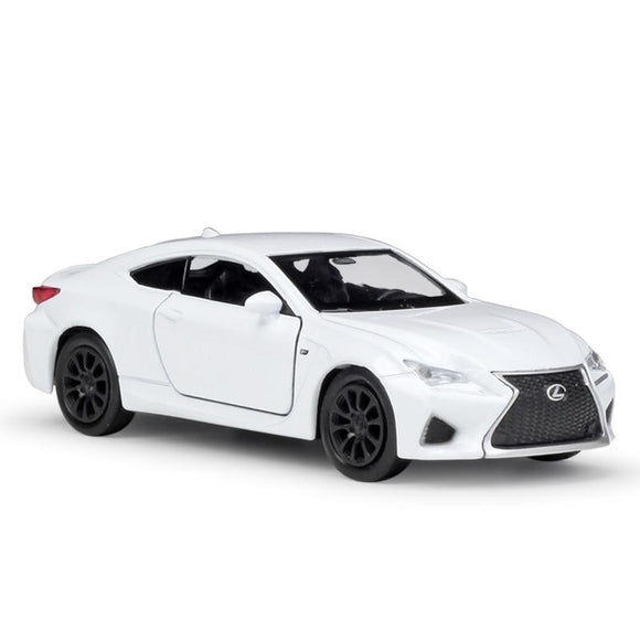 5pcs/lot Wholesale WELLY 1/36 Scale Car Model Toys JAPAN LEXUS RC F Diecast Metal Pull Back Car Toy