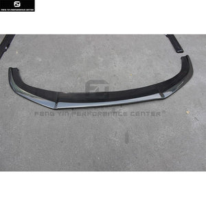 Carbon fiber front bumper lip splitter for Honda Civic 10TH Car body kit 16-17