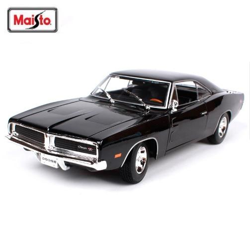 NEW ARRIVAL Maisto 1:18 1969 DODGE Charger R/T Muscle Old Car Model Diecast Model Car Toy New In Box Free Shipping
