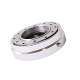 Universal Steering Wheel Quick Release Hub Adapter Neo Chrome