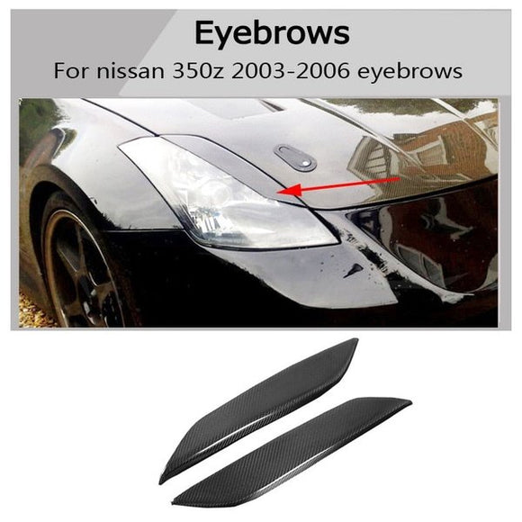 Carbon Fiber  Eye Lid  For Nissan 350Z Z33