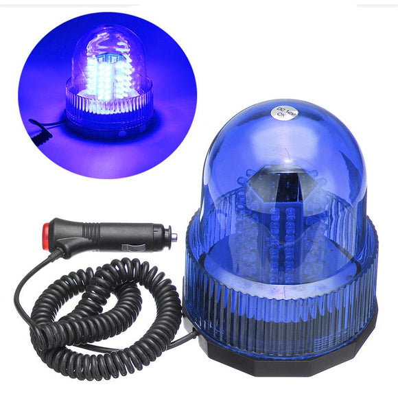 Led Beacon Rotate Strobe Light Blue