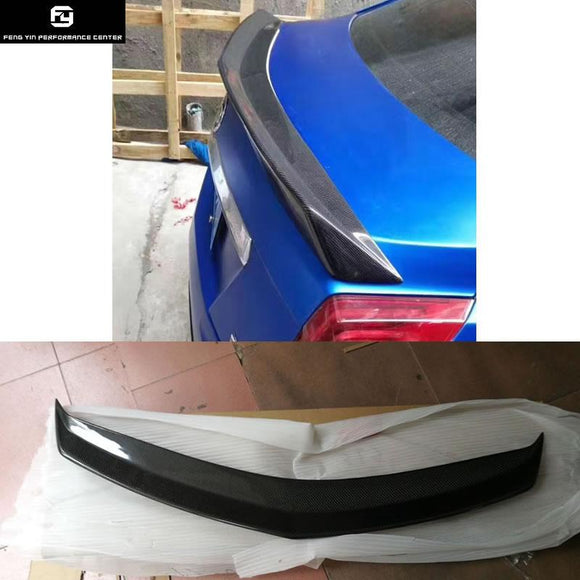 CTS Carbon Fiber rear spoiler wing for Cadillac CTS Car body kit 2014