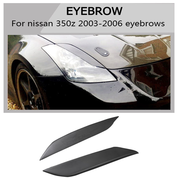 350z frp eyebrow all  Car headlight lips brows High quality Fit  For Nissan 350Z Z33 Coupe 03-06 free shipping